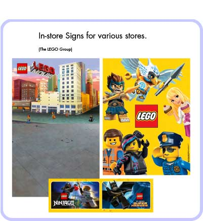 LEGO In-Store Graphics